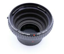 HASSELBLAD V LENS TO NIKON F BODY MOUNT ADAPTER MADE IN JAPAN