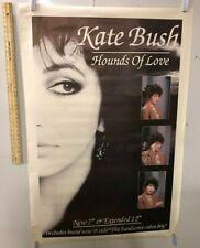 HUGE SUBWAY POSTER Kate Bush Hounds Of Love Wuthering Heights Babooshka Music