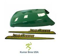 New John Deere Upper Hood With LH & RH Decal Set  LT180 LTR180 LT190