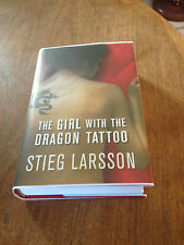 STIEG LARSSON – The Girl with the Dragon Tattoo 1st/1st SIGNED/LINED/DATED
