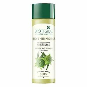 Biotique Bio Bhringraj Therapeutic Oil For Falling Hair 120ml Free Shipping