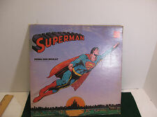 Vintage SUPERMAN: Radio Broadcast Coca -Cola MARK 56 LP 588-A/B