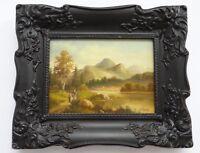 Loire Henri,1952,Bauernpaar,Brüssel,Ölgemälde,Landschaft,Kunst,Bild,Maler
