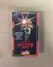 Graveyard Shift horror Movie VHS Tape English with dutch subs