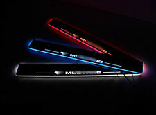 LED Light Door scuff Sill Plates 2pcs for Ford Mustang 2015-2017 New