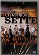 I MAGNIFICI SETTE CON ELI WALLACH, YUL BRYNNER, STEVE MCQUEEN (DVD) NUOVO, ITA.
