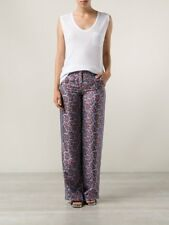 Michael Kors Women's Paisley Print Silk Pants, US 8