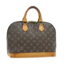 LOUIS VUITTON Monogram Alma Hand Bag M51130 LV Auth 14901