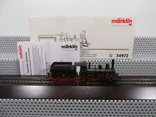 Märklin H0 34972 Oldtimer-Dampflok BR 34 7462 der DRG Delta in OVP