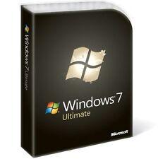 WINDOWS 7 ULTIMATE LICENCIA ELECTRONICA 32*64 BITS 1 PC ENGLISH/ESPAÑOL