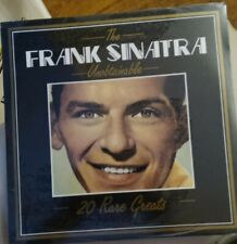 MINT CONDITION SEALED IN CELLOPHANE Frank Sinatra - The Unobtainable Vinyl LP