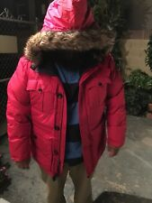Ralph Lauren MEN RED PARKA WINTER JACKET RED SIZE XXL NEW