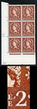 S38 2d Light Red-Brown Wmk Edward Cyl 8 No Dot U/M E/I (ebay 4)