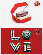 2x CHIPOTLE USA MEXICAN GRILL LOVE BURRITO DIAMOND BOX COLLECTIBLE GIFT CARD LOT