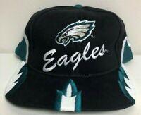 Vintage 1996 Philadelphia Eagles Deadstock Snapback Embroidered Hat Sharktooth
