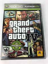 Grand Theft Auto IV (Microsoft Xbox 360, 2008) GTA 4 Complete with Map