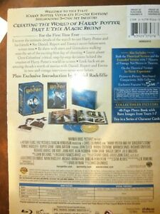 Harry Potter and the Sorcerers Stone Ultimate Edition Blu-ray 2009 (3 Disc), VGC