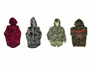 Boys Camouflage Tracksuit Zipped Top | Cuffed Ankle Bottom | 4 - 12 Years