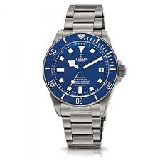Tudor Pelagos Titanium Blue 42mm Automatic Men's Watch 25600TB