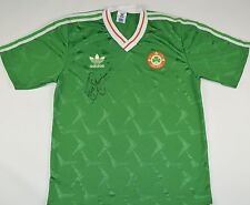 1990-1992 IRELAND ADIDAS HOME FOOTBALL SHIRT (SIZE M)