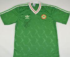 1990-1992 IRELAND ADIDAS HOME FOOTBALL SHIRT (SIZE M)