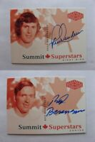 2004-05 UD Legendary Signatures #CDNRB Berenson Red Autographs Summit stars auto