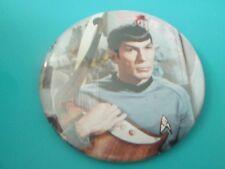 Spock Vintage Pinback Button Star Trek Vulcan