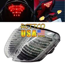 For Suzuki 2006-2007 GSX-R600/750 New Clear LED Tail Light Turn Signal US Ship
