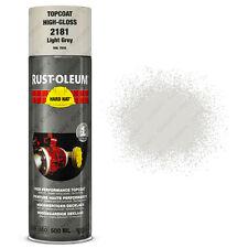 x 16 ultra-elevata COPERTURA Rust-Oleum grigio chiaro Vernice spray Cappello