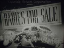 16 mm  Babes for Sale 1940 Rochelle Hudson Glenn Ford Miles Mander