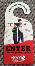 Diary Of A Wimpy Kid 2 Rodrick Rules Door hanger