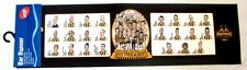 99854 HAWTHORN HAWKS AFL 2013 PREMIERS TEAM CARTOON CARICATURE RUBBER BAR RUNNER