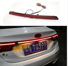 Red For Kia Forte 2019 2020 Accessories  Rear Door Trunk LED Tail Light Cover