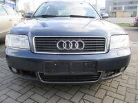 Stoßstange vorne Audi A6 4B Facelift aquablau LY5X Stoßfänger blau SRA