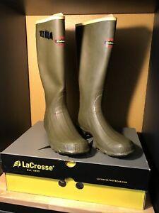 NEW IN BOX! La Crosse  Waterproof Boots Mens 13