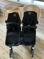 Bugaboo Donkey Duo Standard Double Seat Stroller - Cream Canopy