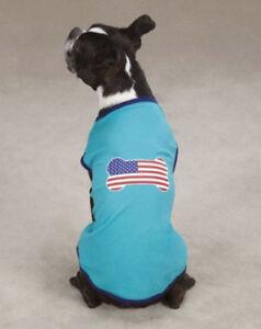 CLOSEOUT Dog Pet Top Tee T-Shirt Tank Tops Casual Canine Zack Zoey Shirts