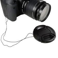 Objektivdeckel 55mm für alle Objektive & Kameras SLR DSLR Deckel Lens Cap Kappe
