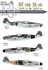 Eagle Cal 1/72 Messerschmitt Bf 109K-4 # 72063