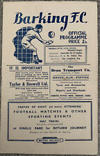 More details for barking v barnet 1949/50