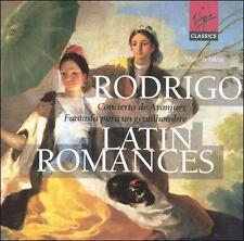 Rodrigo & Latin Romances / Sharon Isbin ~ New 2-CD Set (1999, 2 Discs, Virgin)