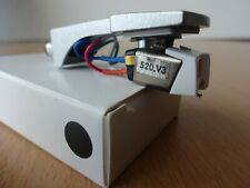STANTON 520.V3 CARTRIDGE + STYLUS + SILVER HEADSHELL + 3Gram WEIGHT For Technics