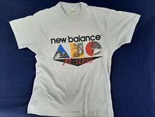 Vintage 80s NEW BALANCE T Shirt Triathlon running swim Retro Single Stitch Sz XL