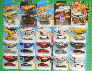 Hot Wheels - Lot of 20 - Honda - w/ CR-X, Civic, Prelude and S2000