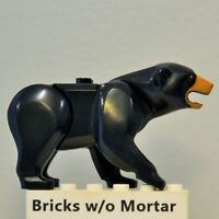 New Genuine LEGO Black Bear with Dark Tan Muzzle Animal City 60173 60188