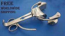 Collin Abdominal Retractor Two Blade with Centre Blade General Surgery Free Ship