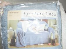 FURNITURE COVER- SIZE-LOVESEAT -BLUE-NEW*-