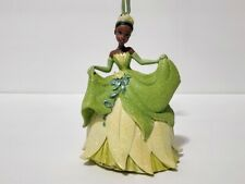 Disney Parks Princess and the Frog Tiana Glitter Dress Christmas Ornament Nwt