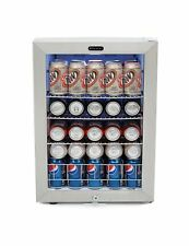 Whynter BR 091WS 90 Can Capacity Stainless Steel Beverage Refrigerator Lock New