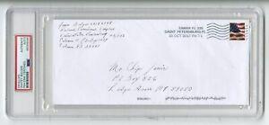 Whitey Bulger - Notorious Mobster - Autographed 2017 PSA/DNA Slabbed Envelope